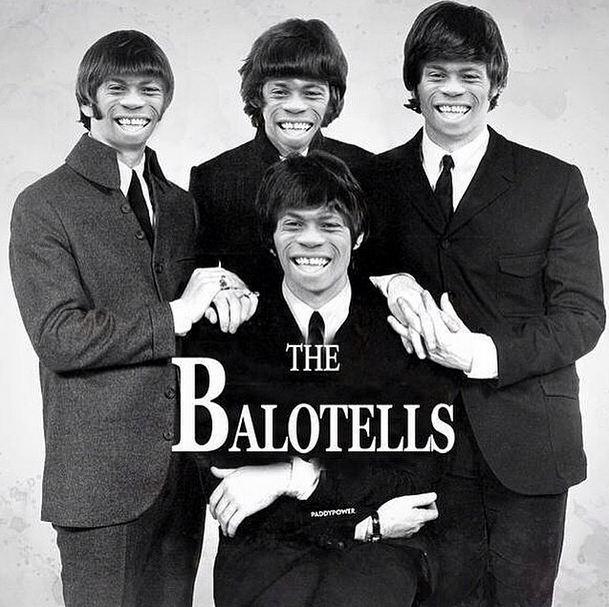 Liverpool new boy Mario Balotelli mocks himself up as The Beatles