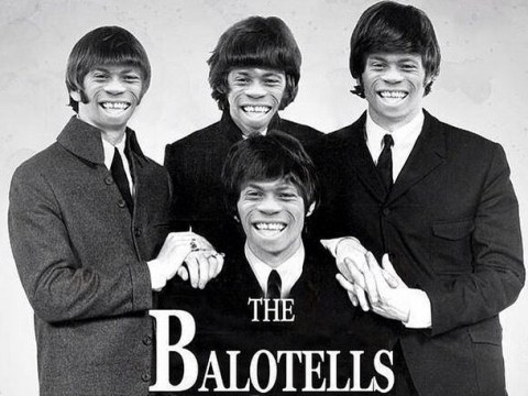 Liverpool new boy Mario Balotelli mocks himself up as The Beatles