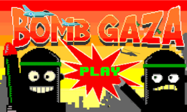 The game invites its users to 'drop bombs and avoid killing civilians' (Picture: Google Play)