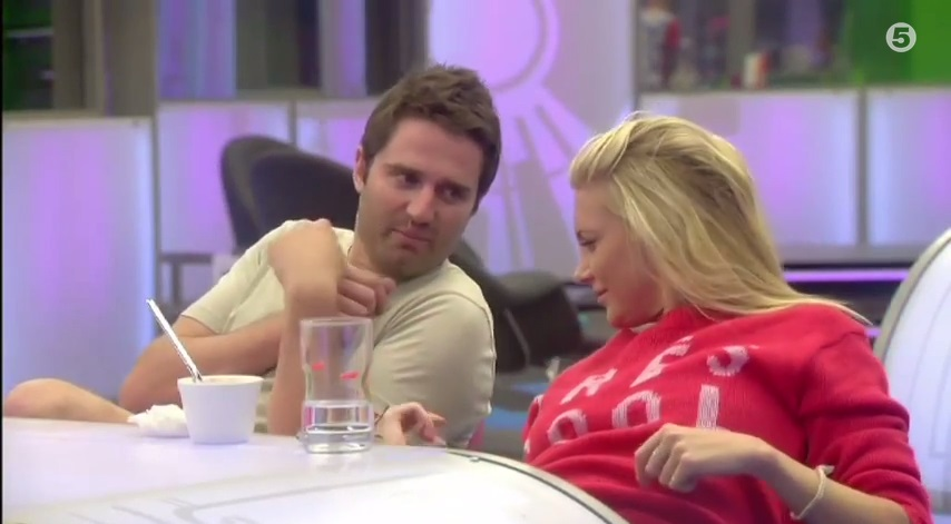 Flirt alert: Celebrity Big Brother's Stephanie Pratt and George Gilbey are at it again