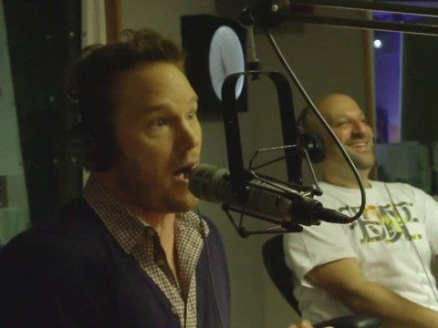 Chris Pratt rapping Eminem's part in Forgot About Dre has to be seen to be believed