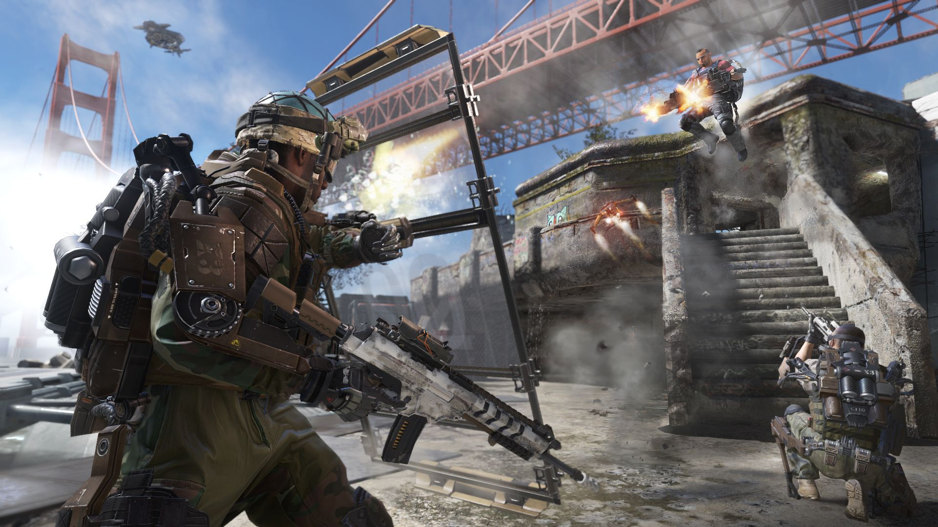 6 things that made Call Of Duty: Advanced Warfare's multiplayer ace at Gamescom