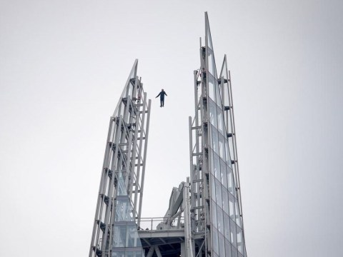 Dynamo admits using 'safety cord' for Shard stunt but says it was only for practice run