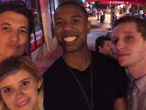 'Thanks to my boys!' Kate Mara tweets super selfie with her Fantastic Four co-stars as filming wraps
