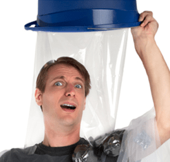 Now the ice bucket challenge is this year's best Halloween costume