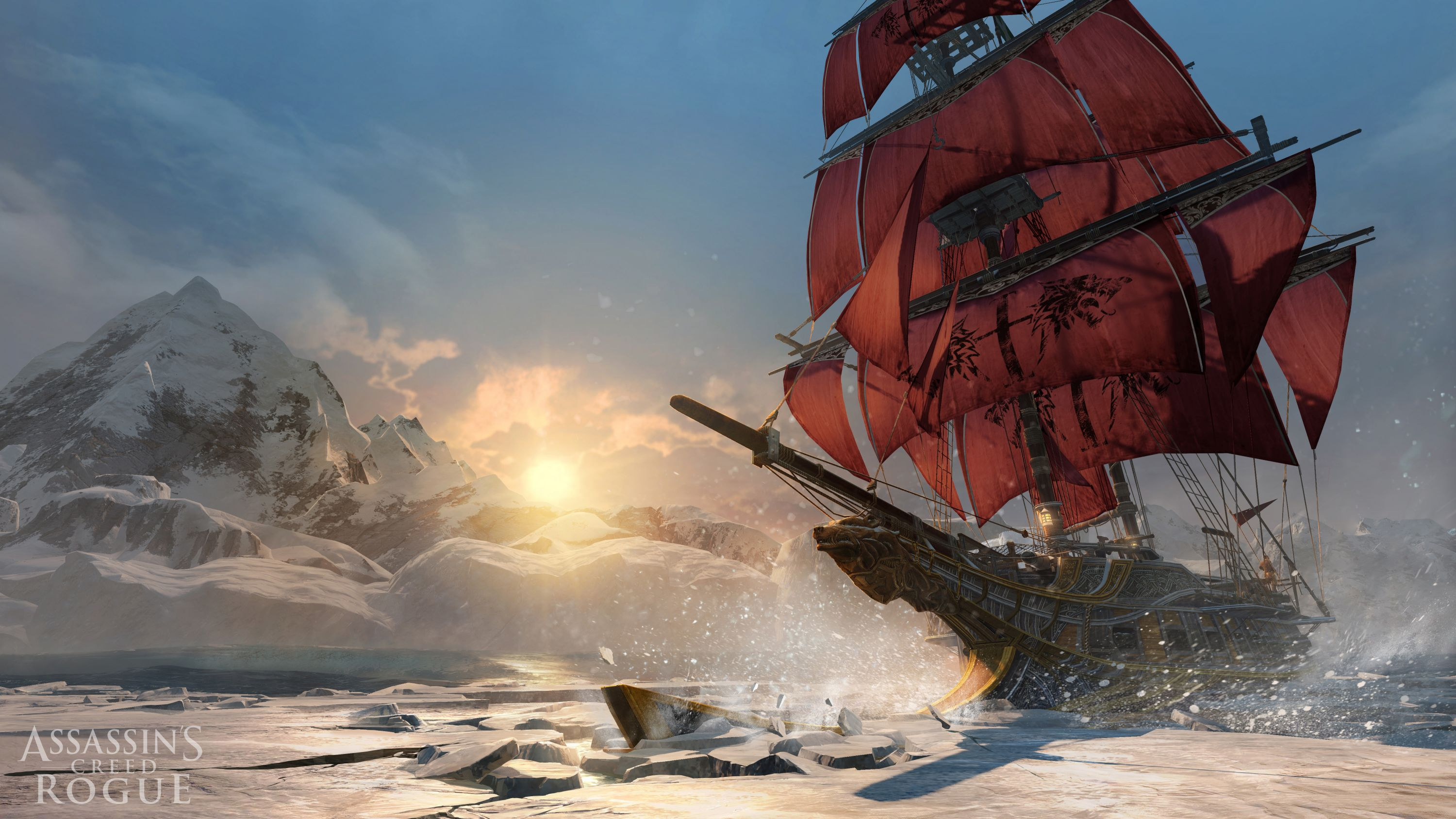 Assassin's Creed: Rogue -  sailing ships will pass you by