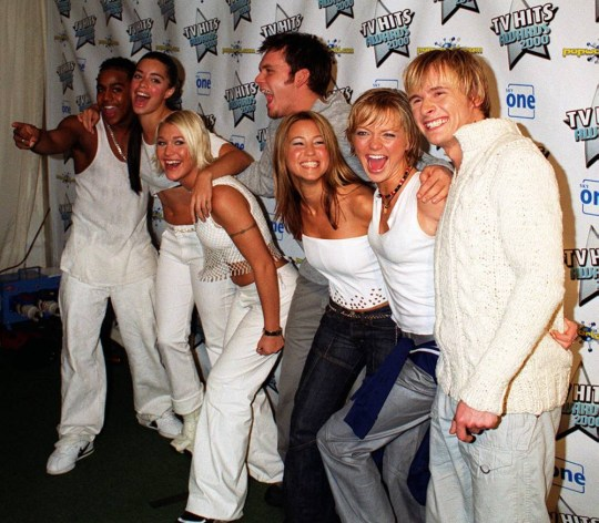 S Club 7 in 2000 (Picture: PA)