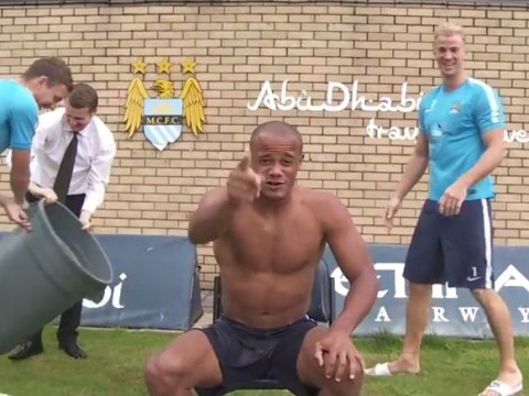 Manchester City manage to bore ice bucket challenge, but Vincent Kompany saves it with Jean-Claude Van Damme nomination