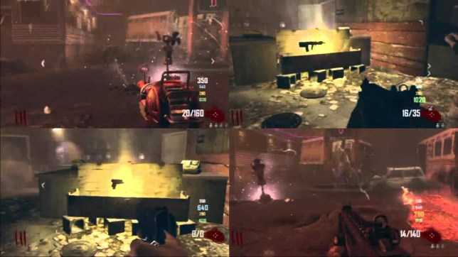 Call Of Duty: Black Ops II - the last four-player entry