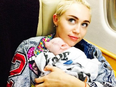 Meet the newest member of the Cyrus family: Miley adopts pet pig Bubba Sue