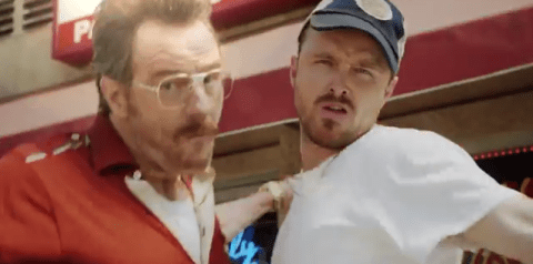 7 reasons to watch Bryan Cranston and Aaron Paul reunite in Barely Legal Pawn