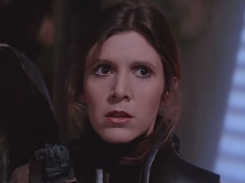 Carrie Fisher finds it hard to date because she doesn't want to give men 'the satisfaction of being with Princess Leia'