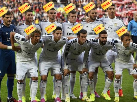 Real Madrid field most expensive team in football history for Super Cup win over Sevilla