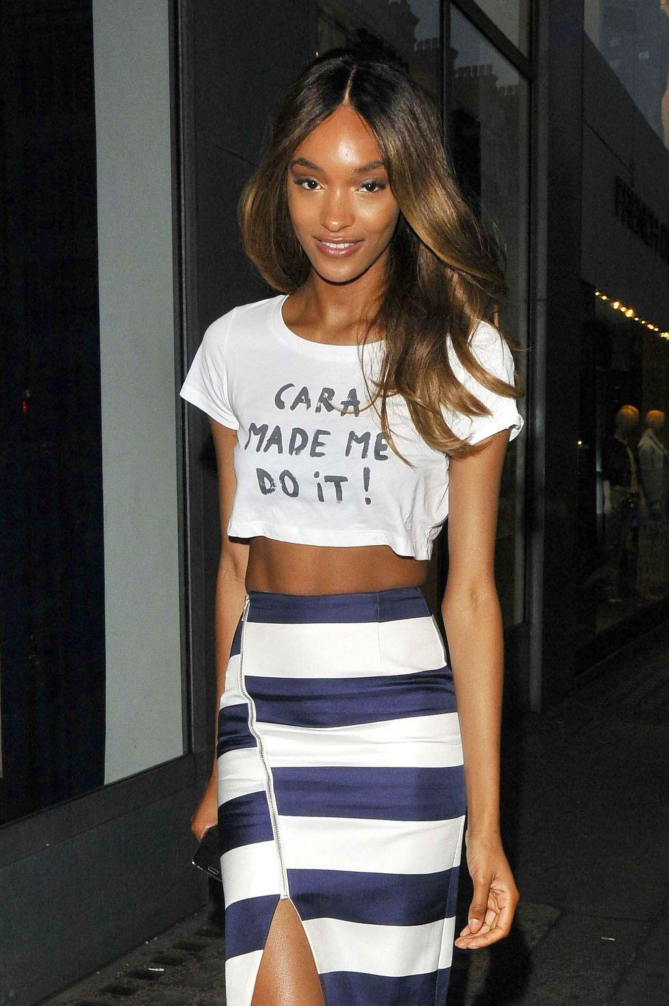 Here's how to get your hands on Jourdan Dunn's 'Cara Made Me Do It' slogan tee