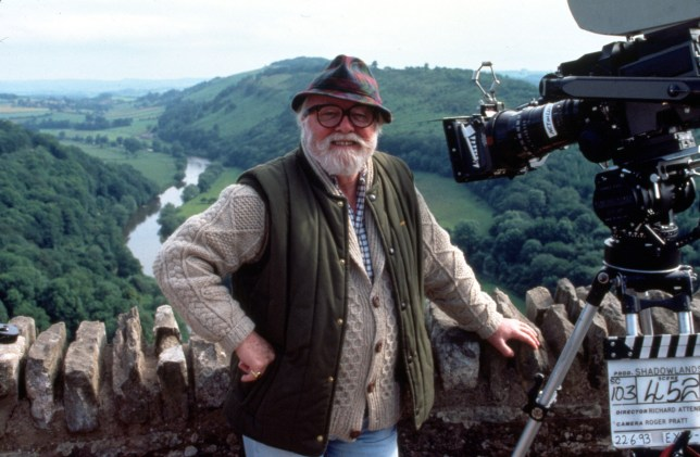 FILM STILLS OF 'SHADOWLANDS' WITH 1993, RICHARD ATTENBOROUGH IN 1993