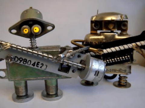 Ever heard of tiny robot music? You have now