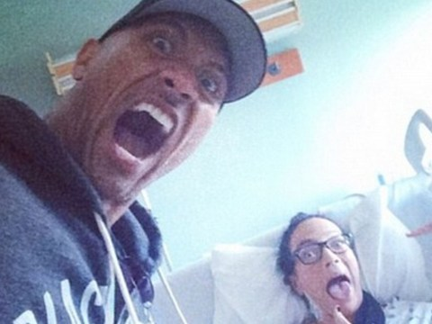 The Rock posts shocking picture of car crash involving mum and cousin