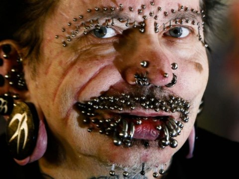 Most-pierced man barred from Dubai because they say he 'practices black magic'