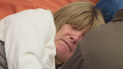 Celebrity Big Brother 2014: Leslie Jordan reduces Kellie Maloney to tears