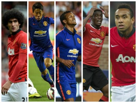Marouane Fellaini, Nani, Shinji Kagawa, Wilfired Zaha and Anderson all set for Manchester United transfer exits