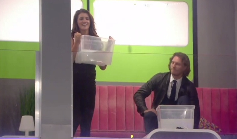 Big Brother 2014: Helen Wood gets drenched when a prank with Ash backfires