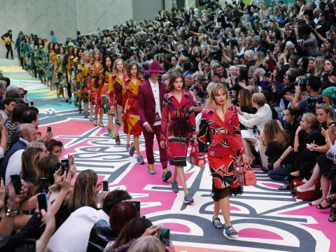 Burberry's spring/summer 2015 insect-themed show has the fashion crowd buzzing