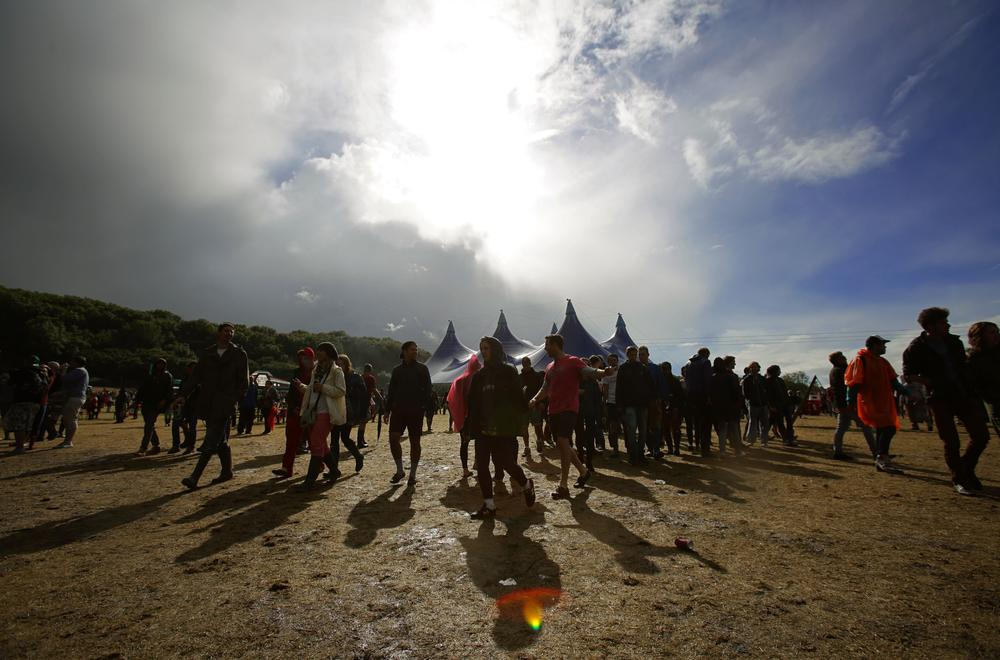 Overcast weekend of weather forecast for castaways at Bestival 2014