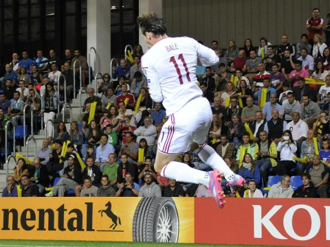 Gareth Bale is slowly morphing into Real Madrid teammate Cristiano Ronaldo with this Wales celebration against Andorra