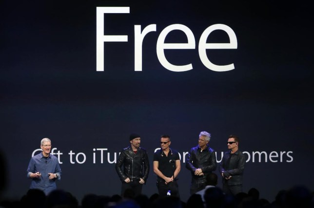Online backlash as U2 give away Songs Of Innocence to iTunes