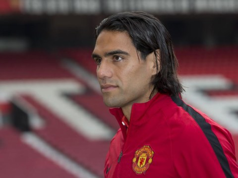 Radamel Falcao benched for Manchester United debut against QPR alongside £30million Luke Shaw