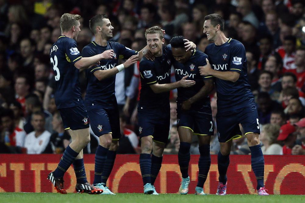 Southampton's victory over 'cheating' Arsenal has turned the tide of opinion in the media