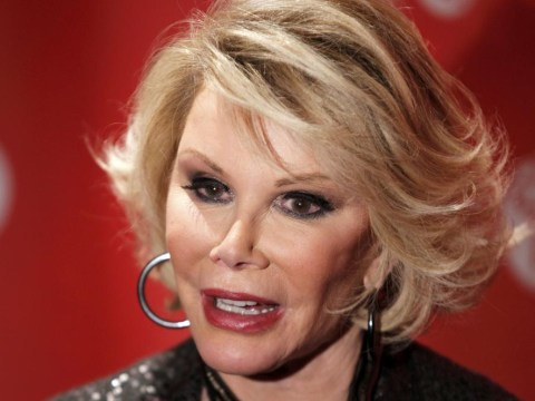 Joan Rivers being woken from coma that could leave her 'either a vegetable or in a wheelchair'