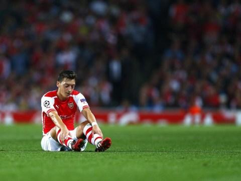 Mesut Ozil completely outshone by Borussia Dortmund number 10 Henrikh Mkhitaryan