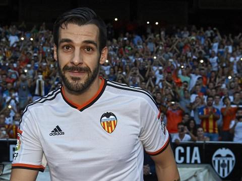 How former Manchester City striker Álvaro Negredo got off to a very, very bad start at Valencia