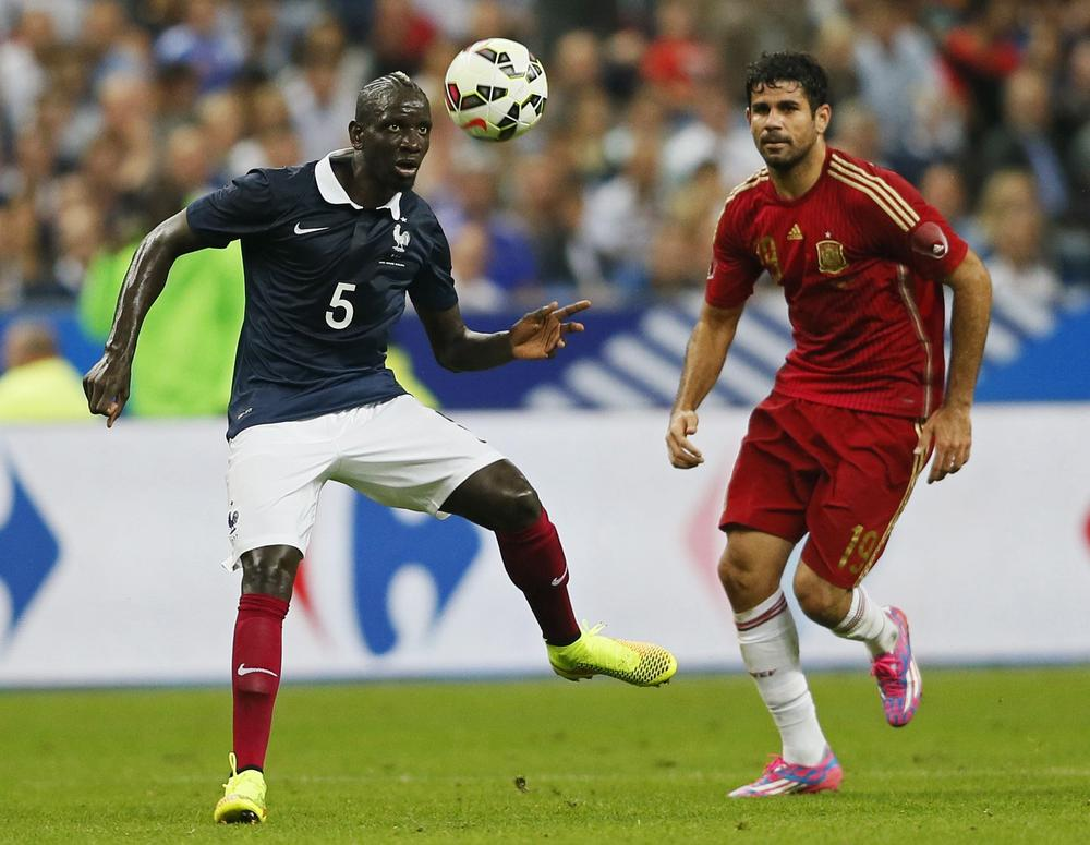 Mamadou Sakho showed why he should be in Liverpool's team by shackling Diego Costa for France