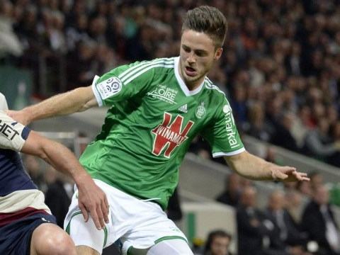 Norwich City flop Ricky Van Wolfswinkel remembers how to score again with sweet volley for St Etienne against Bordeaux