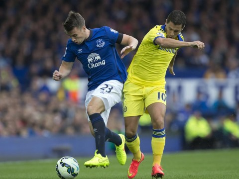 Manchester United to battle Chelsea for Everton defender Seamus Coleman – and could use Marouane Fellaini as bait