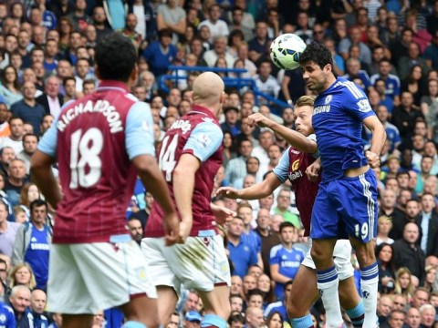 Frustrated Aston Villa find Diego Costa and Chelsea a Bridge too far