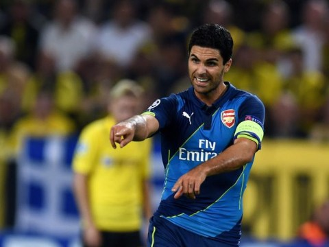 Mikel Arteta trolled by Arsenal fans after Borussia Dortmund Champions League loss