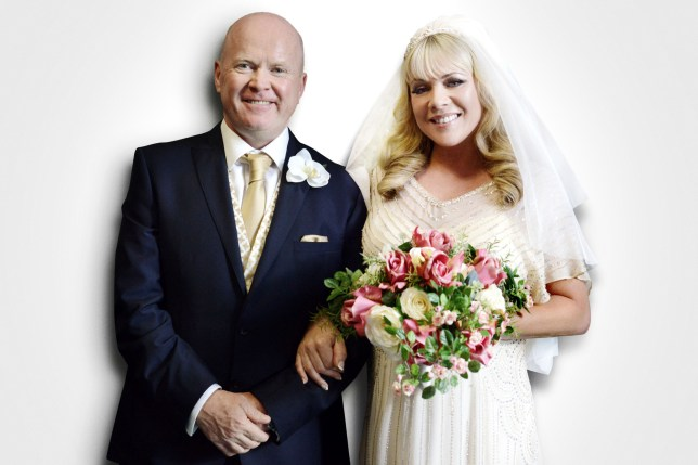 EastEnders: Sharon and Phil's wedding