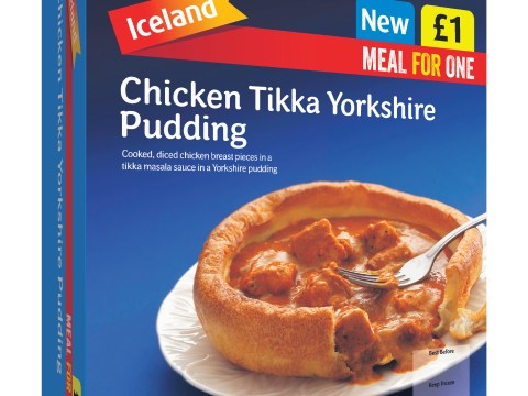Iceland launch chicken tikka Yorkshire pudding meal-for-one, the world weeps
