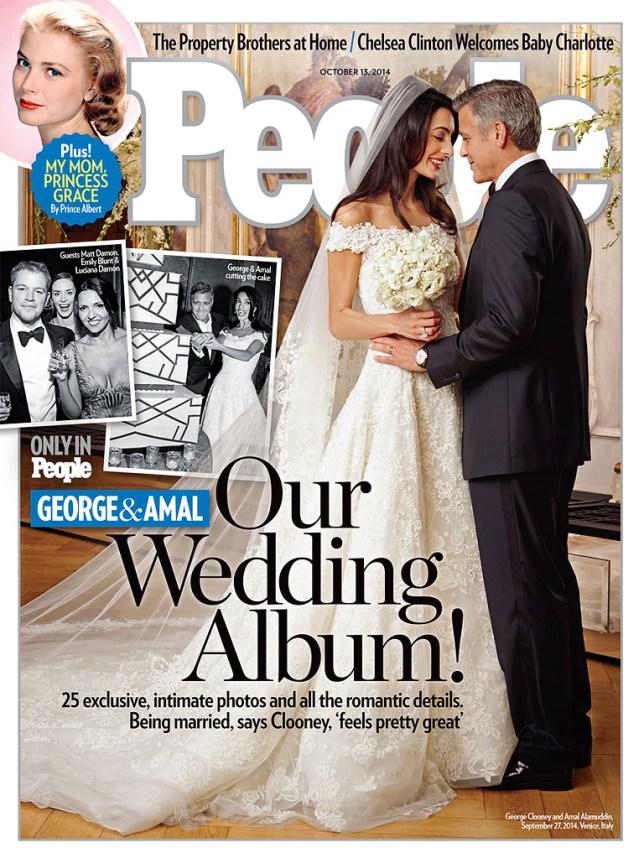 George Clooney Amal Alamuddin wedding
