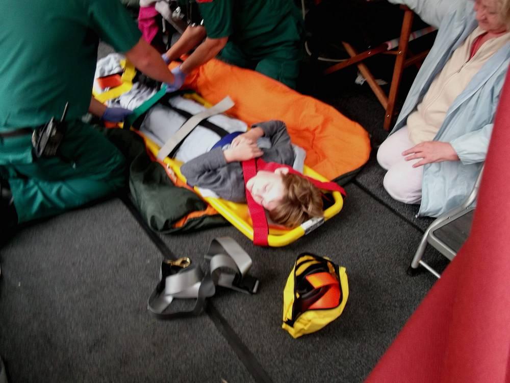 Twister dumps tent family 'like plane crash victims'