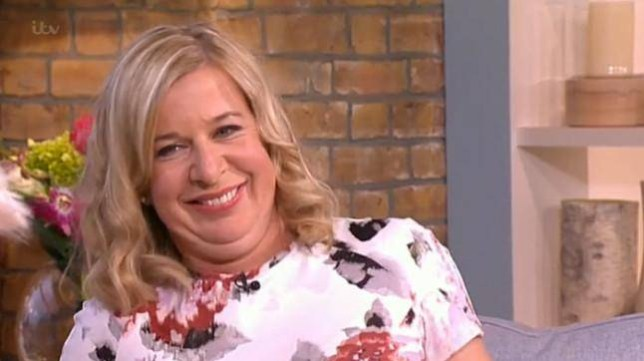 Katie Hopkins on this morning reveals that she's puttingt on weight to lose again