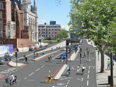 London urban cycleways plans unveiled
