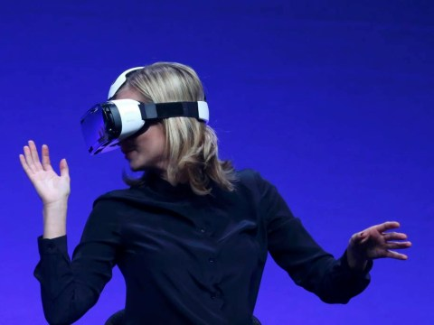 Samsung unveils virtual reality headset Gear VR – but it works only with its new phone