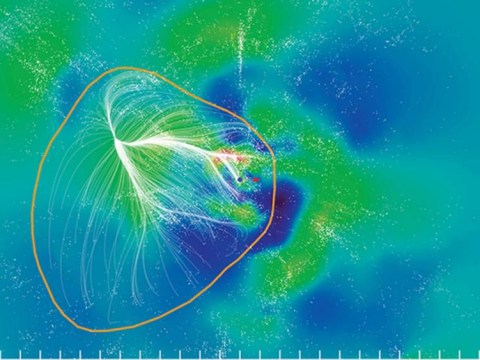 Welcome to the outskirts of Laniakea… our off-road part of the universe