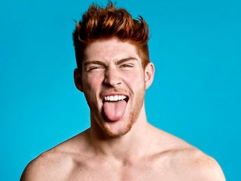 Brit photographer seeks to prove that red heads are the perfect leading men, we're convinced