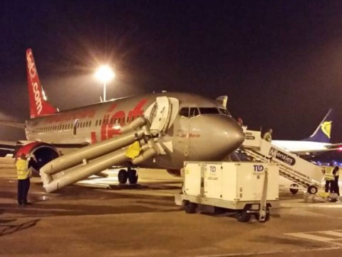 Jet2 plane evacuated. Airline says: 'Safe arrival'. Passengers say: 'Sheer carnage'