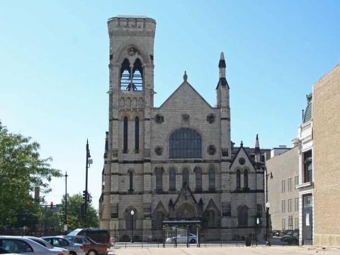 Women killed in freak accident after church gargoyle falls on her head